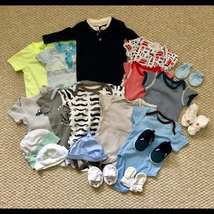 Baby clothing bundle size 0-12 months